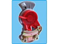 Головка з'єд. КамАЗ,МАЗ ПАЛМ червона компл.(б/к+с/к) МВ (8708309998)